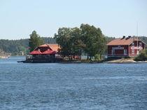 Schäre vor Stockholm, Zweihäuserinsel von Ka Wegner
