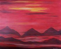 rote Berge by Sun Dream