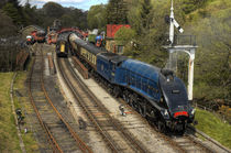 Sir Nigel Gresley at Goathland by Martin Williams