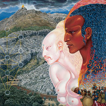 Moses and Aaron (1971) by Mati Klarwein