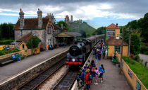 Corfe Castle Station by Rob Hawkins