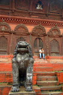Large-stone-fu-in-durbar-square