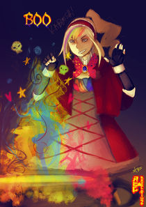 Boo the Witch von Ami Williams