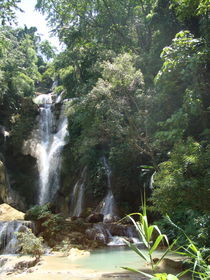 KUANG SI WASSERFALL, LAOS von Willy Matheisl