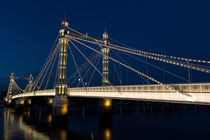 The Albert Bridge London by David Pyatt