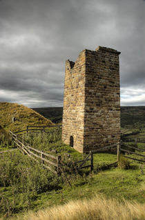 Rosedale Chimney, North York Moors by Martin Williams