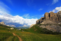 Bergpanorama von Wolfgang Dufner
