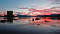 Castle Stalker, Loch Laich. von Buster Brown Photography