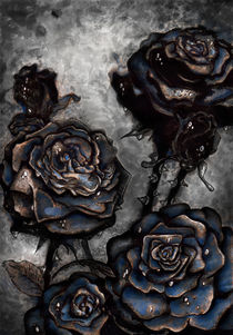Dying Roses by alexandra-veda