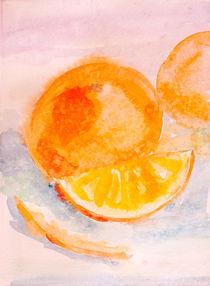 Orange morning by Inna Vinchenko
