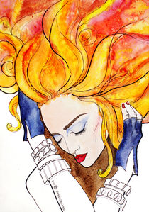 Madonna inner fire by Inna Vinchenko