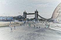 London Southbank art by David Pyatt