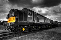 Class 37 Pioneer (mono) von Rob Hawkins