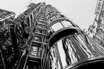 Lloyds Building central London  by David Pyatt
