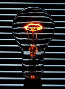 Orange Bulb von Rob Hawkins