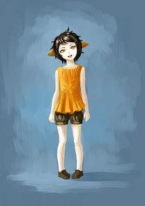 Girl in Shorts von freeminds