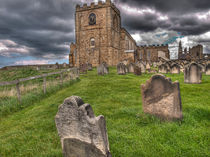 St. Mary's Church Whitby by Allan Briggs