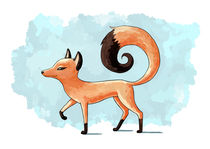 Proud Fox von freeminds