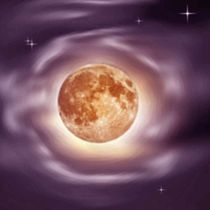 Der Mond hat einen Hof. by Bernd Vagt