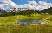 Bergsee von Wolfgang Dufner