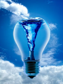 Energy Bulb by Szantai Istvan