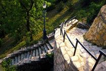 stone staircase by Szantai Istvan