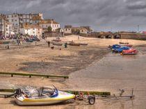 St. Ives beach by Allan Briggs