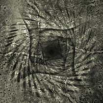 Mars In The Square Black & White Relief Surfaces 2011  von florin