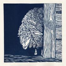 Blue sheep by Agata Nawrot