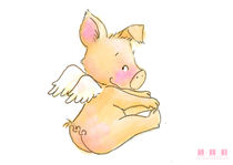 Angel Pig 02 von sarah-emmanuelle-burg