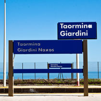 Bahnstation - Giardini Naxos - Sicily von captainsilva