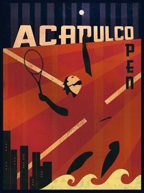 Acapulco Tennis by Benjamin Bay