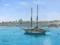Hera II, Valletta, Malta by Richard Harpum