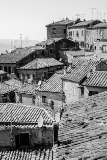 Volterra Rooftops  by Russell Bevan Photography