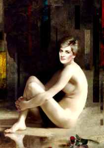 PRINCESS DIANA NUDE OF AN ENGLISH ROSE by Karine PERCHERON DANIELS