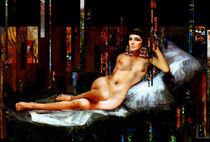 Elizabeth-taylor-cleopatra-nude-painting-portrait