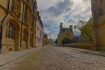 Historic Merton Street , Oxford by Christopher Kelly