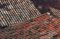Provence, France, Tile Roofs by Katia Boitsova-Hošek