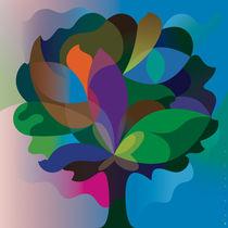 Color Broadleaf | Farblaubbaum von Bernd Wachtmeister