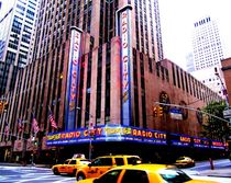 Radio City Music Hall von Julia  Berger
