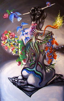 Tatouage vivant by John Lanthier