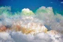 Coloured Clouds von John Biggadike