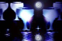 Blue glas. von Bernd Vagt