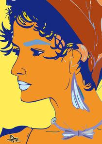 Girl of 90's by Lluïsa Díaz
