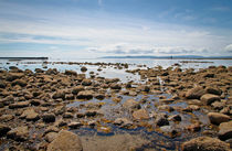 Ardrossan looking out to the Isle of Arran by Buster Brown Photography