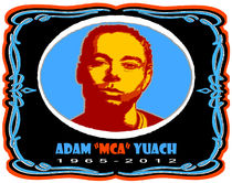 "ADAM ""MCA"" YUACH TRIBUTE TEE by solsketches"