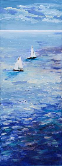 Segelschiffe in der Karibik von Corinna Schumann