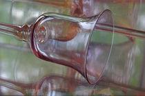 Reflected Vision ~ Glass Goblet von JET Adamson