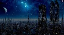 Metropolis Moon by David Jackson