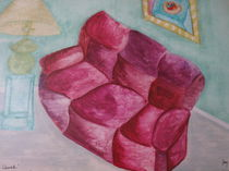 comfy couch by joy sparks